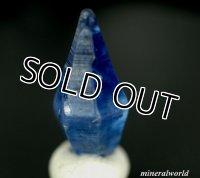 透明感*天然ブルー・サファイア原石*3.222ct*スリランカ-カタラガマ産