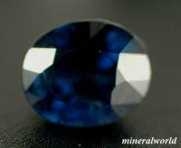 天然ブルー・サファイア*ナイジェリア産*0.96ct